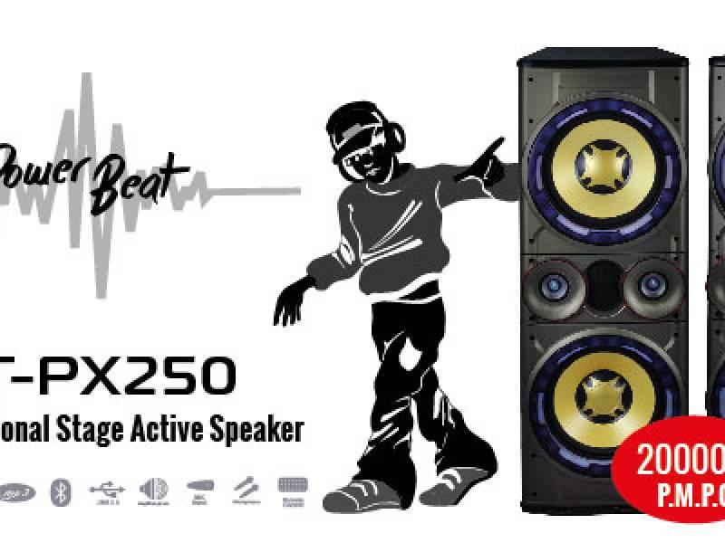 Parlante activo NT-PX250 FM/USB/SD/BT 2.0