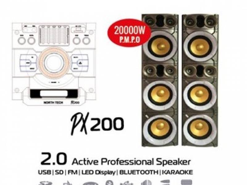 Parlante activo NT-PX200 Profesional 2.0