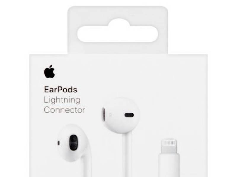 Auricular APPLE ORIGINAL Lightning conector (retail)
