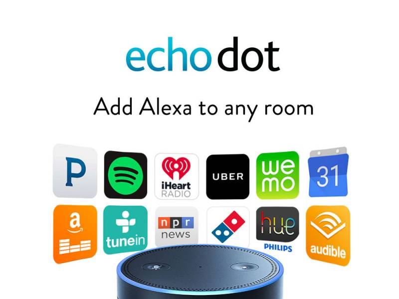 ECHO DOT 2 - Asistente virtual inteligente en Inglés