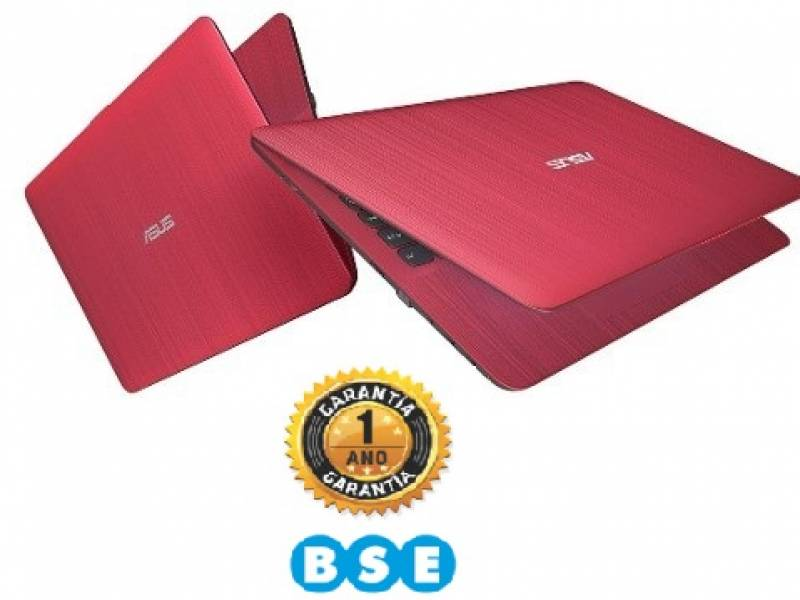 Notebook ASUS VivoBook X541u i7-7500u RED TOUCH