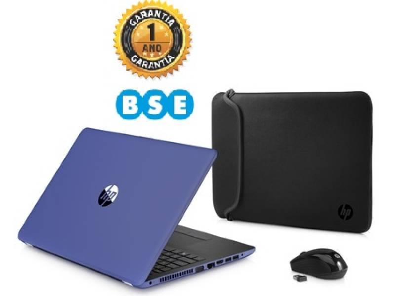 "Notebook HP 15-bw002wm E2-9000e 15.6"" DVDRW Azul"