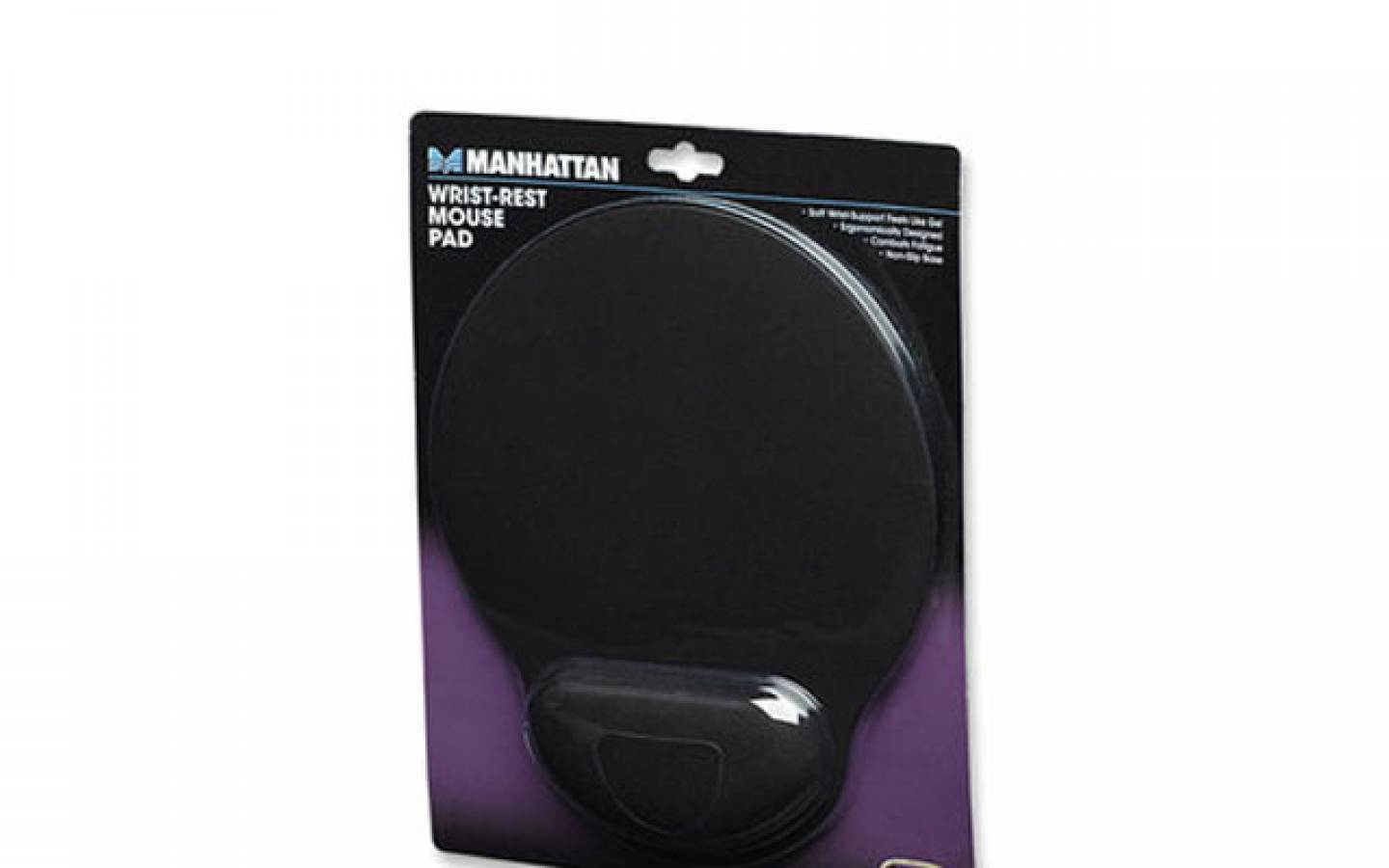 Pad Mouse Gel Negro Manhattan