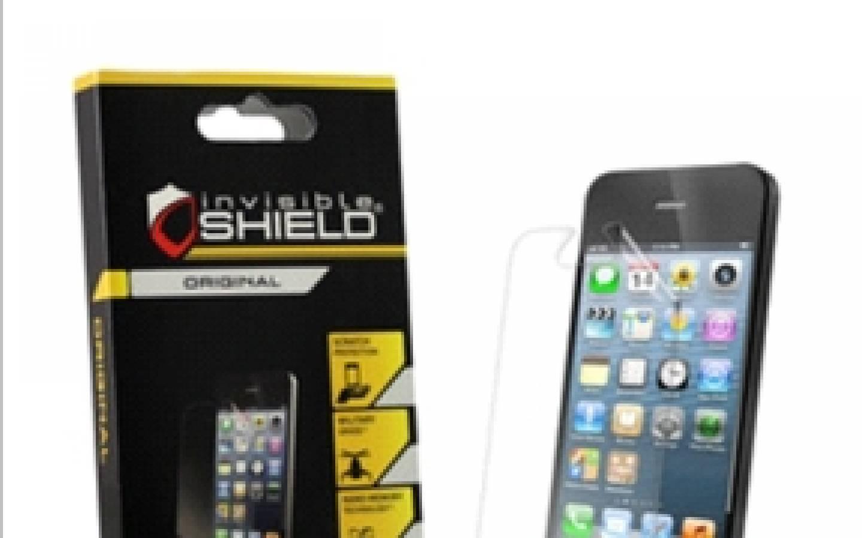 ZAGG® Protector de pantalla invisibleSHIELD™ para iPhone® 5
