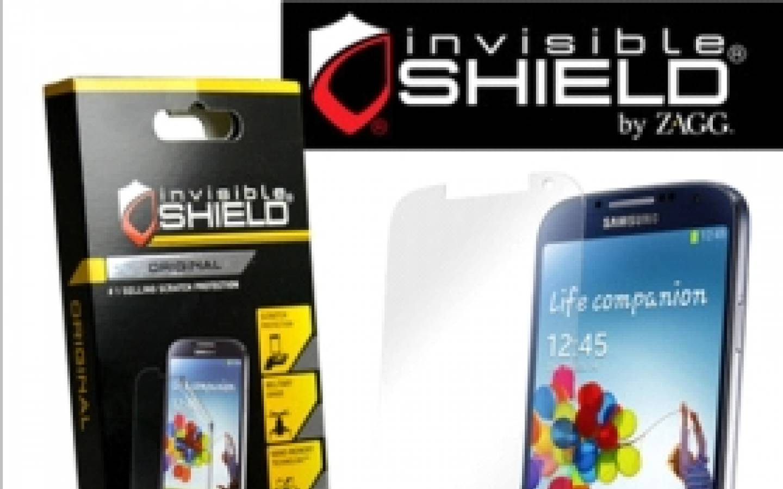 ZAGG� Protector de pantalla invisibleSHIELD� para Samsung Galaxy� S 4