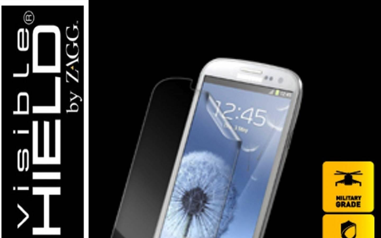 ZAGG® Protector de pantalla invisibleSHIELD™ para Samsung Galaxy™ S III