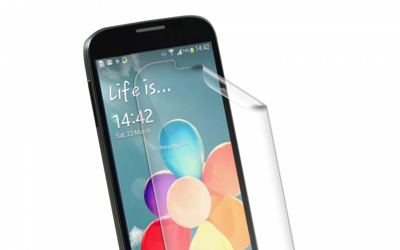 ZAGG® Protector de pantalla invisibleSHIELD™ para Samsung Galaxy™ S 4 Mini