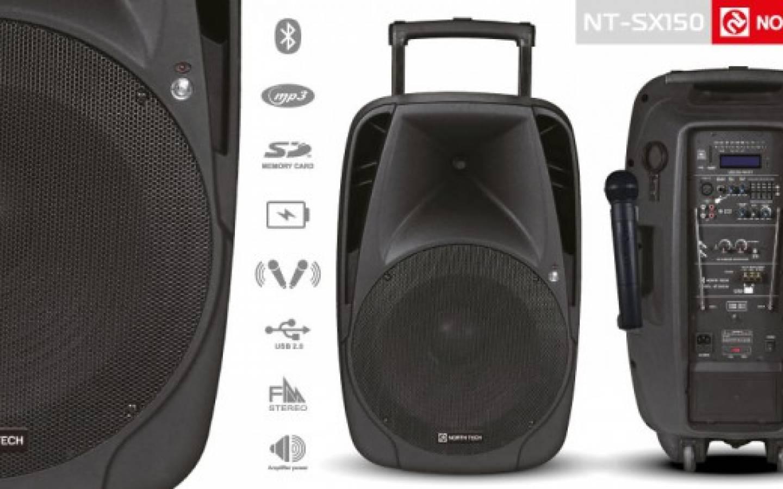 Parlante Karaoke 15 Bluetooth  North Tech NT-SX150