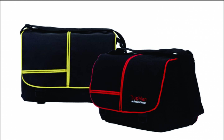 Estuche pcámara Profesional Mybag negro con rojo y negro con amarillo