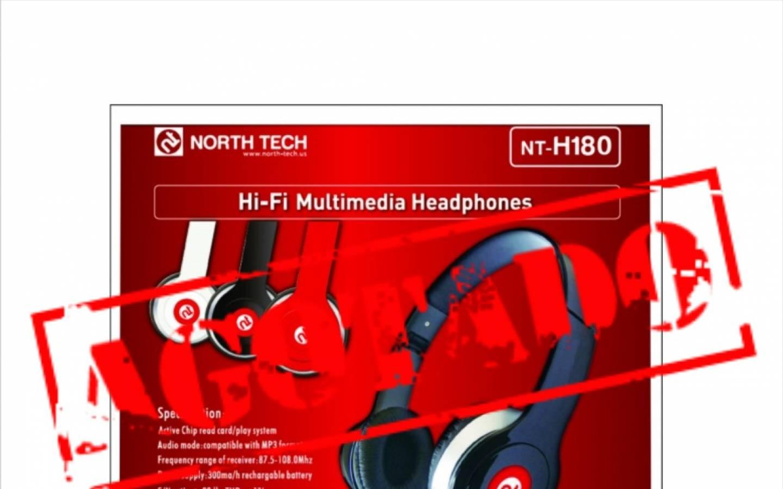 Auricular FM Micro SD mp3 NT-H180