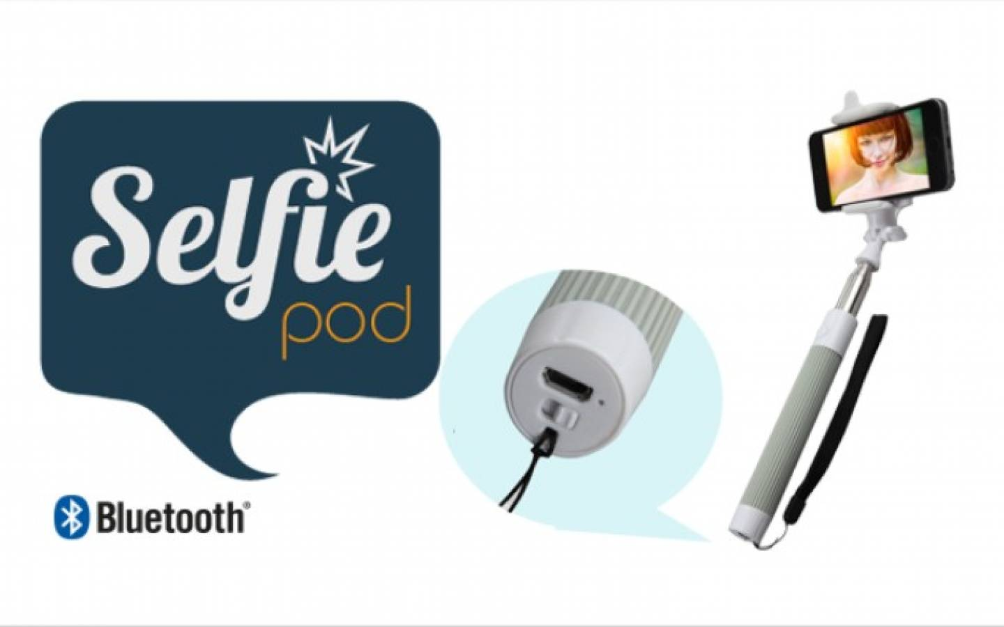 Selfie pod Bluetooth North Tech NT-SF01