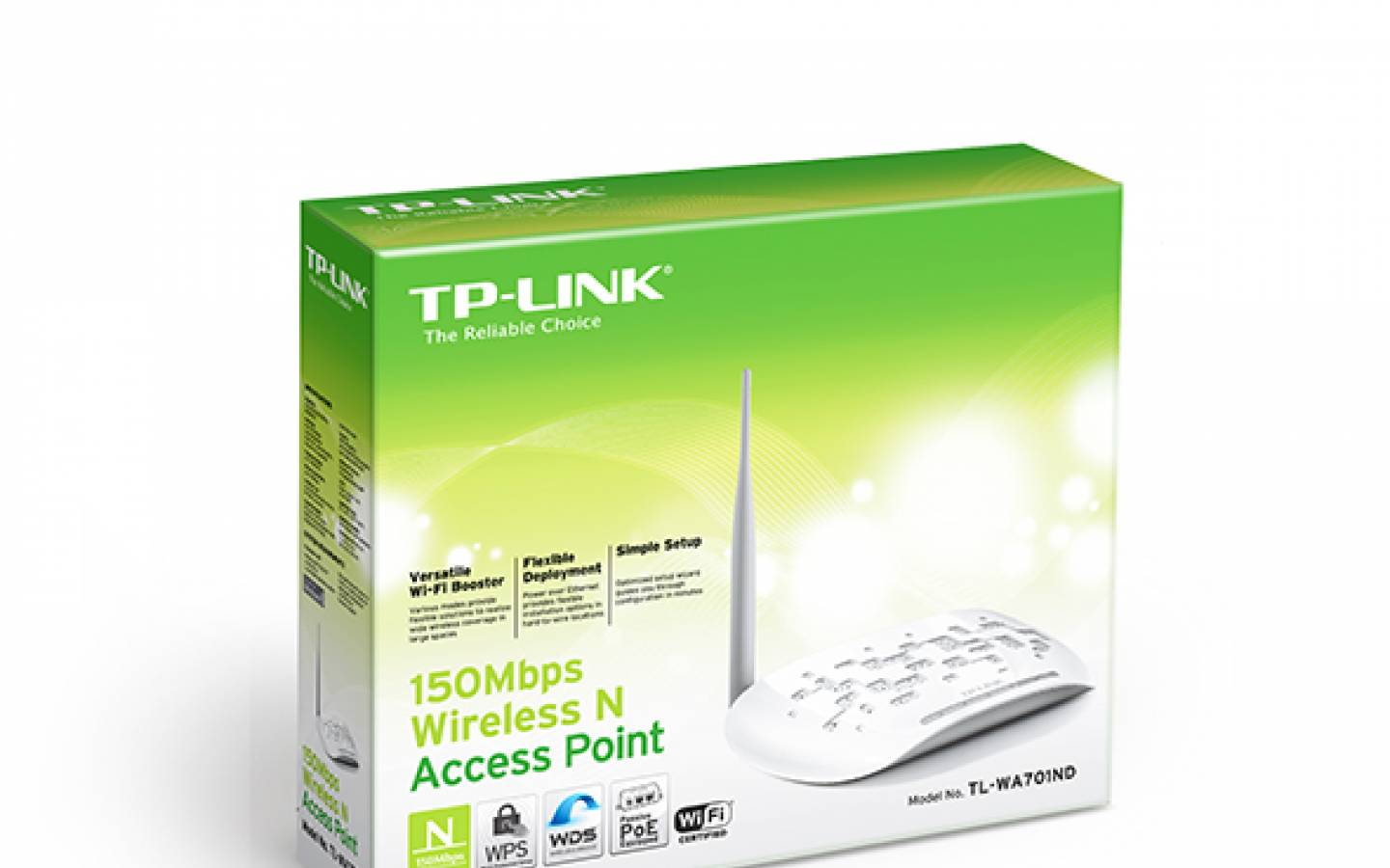 ACCES POINT TL-WA701ND WIFI 150MBPS