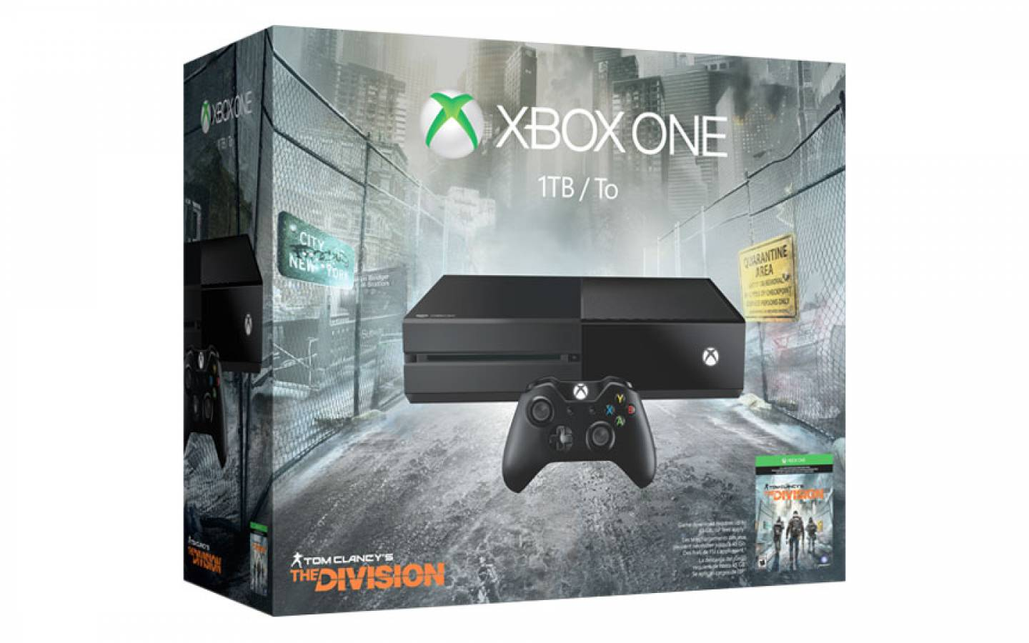 XBOX ONE 1TB - Tom Clancy's - New !!! 110V