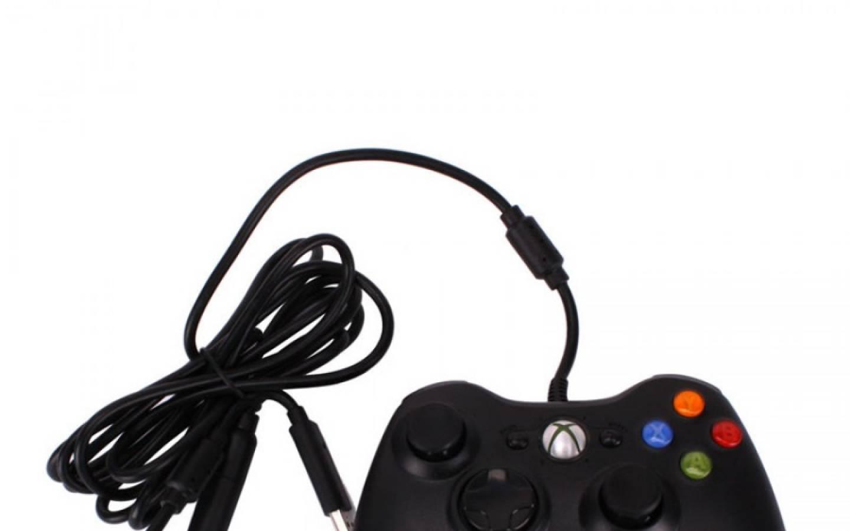 Joystick Xbox 360 cableado - Negro