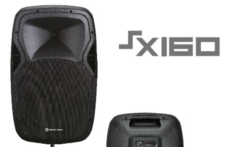 Parlante activo NT-SX160 FMUSBSDBT - Bateria