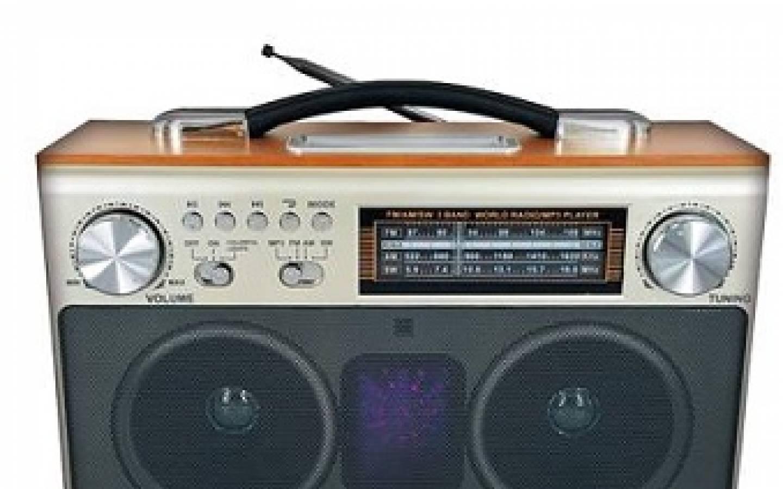 Parlante Radio NT-MH200 - Bateria