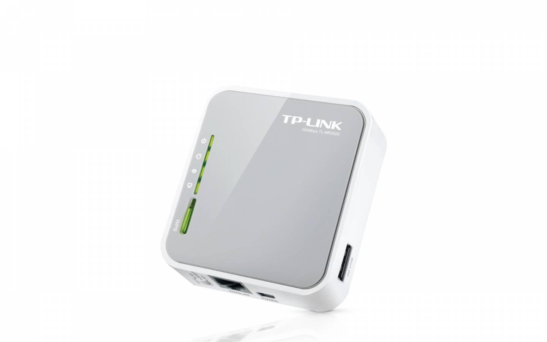 Router inalámbrico N 3G4G portátil TL-MR3020