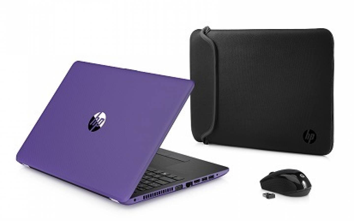 Notebook HP 15-bw003wm E2-9000e 15.6 DVDRW Purple