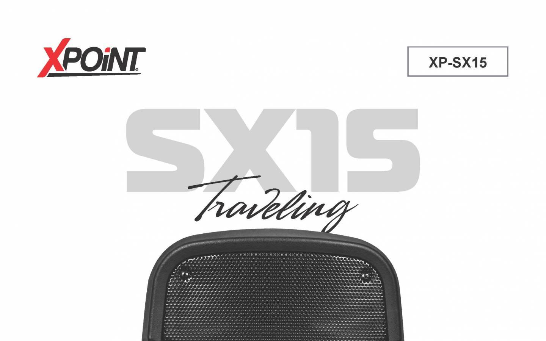 Parlante Activo Profesional Xp-SX15 BT