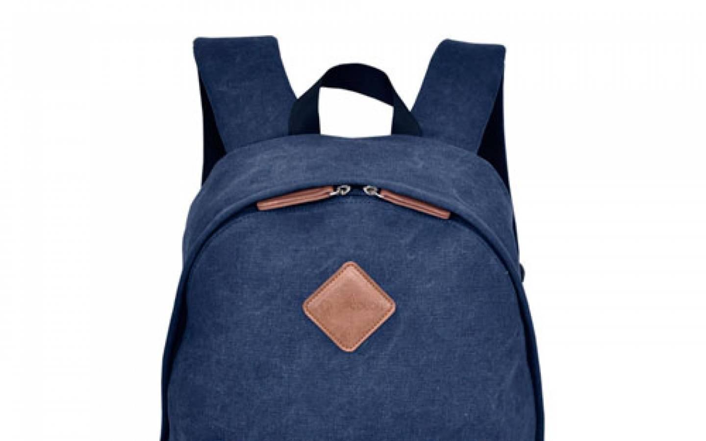 Mochila para Laptop 15.6 azul y marron