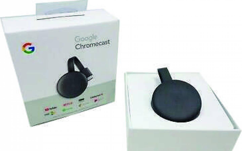 Google - CHROMECAST 3 - NUEVO Retail