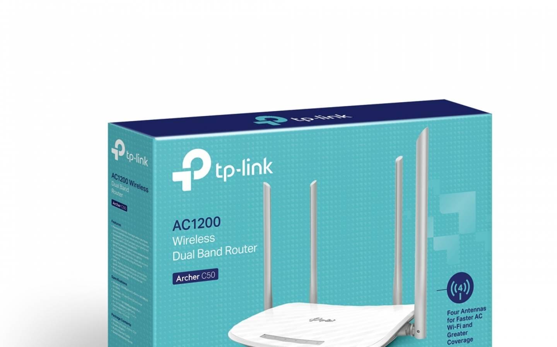 Router Inalámbrico  AC1200 Archer C50 Dual Banda