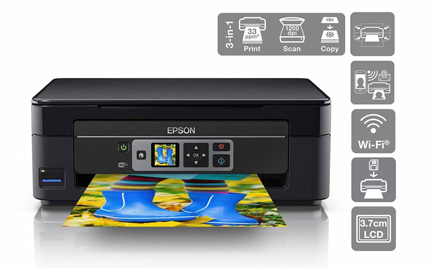 IMPRESORA EPSON MULTIFUNCION XP-352 WIFI