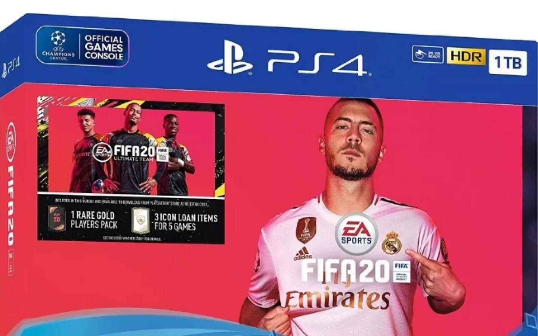 CONSOLA PLAY STATION 4 1TB FIFA 2020