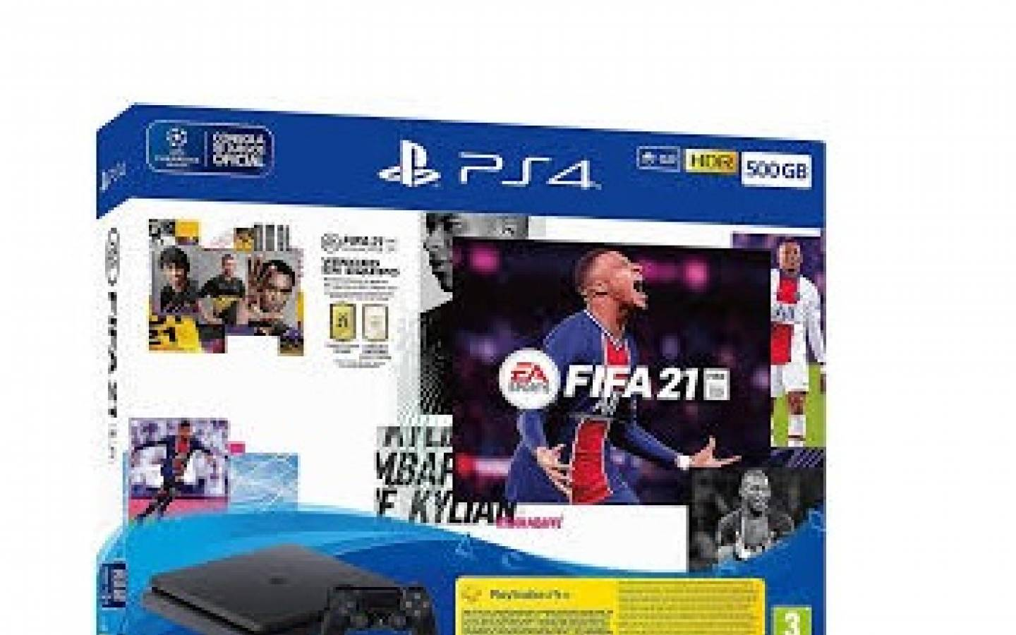 Playstation 4 Slim 1 TB + FIFA 21