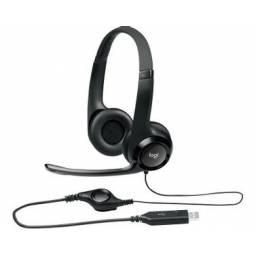 Auriculares con micrófono Logitech H390 USB