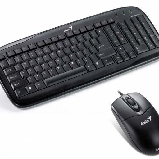 Genius Teclado y Mouse KB C110 USB