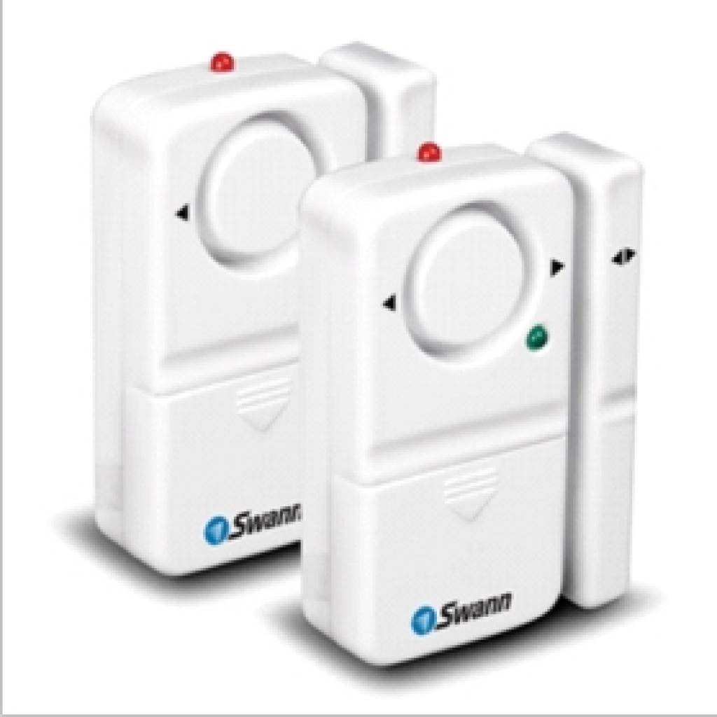 SWANN Magnetic Window and Door Alarm 2 Pack SW351-MD2