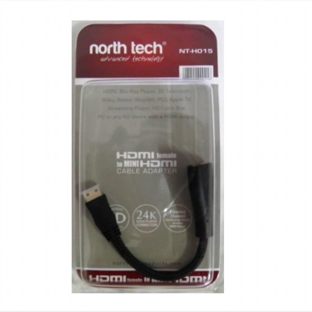 NT-H015 Adaptador mini HDMI North Tech 15cm