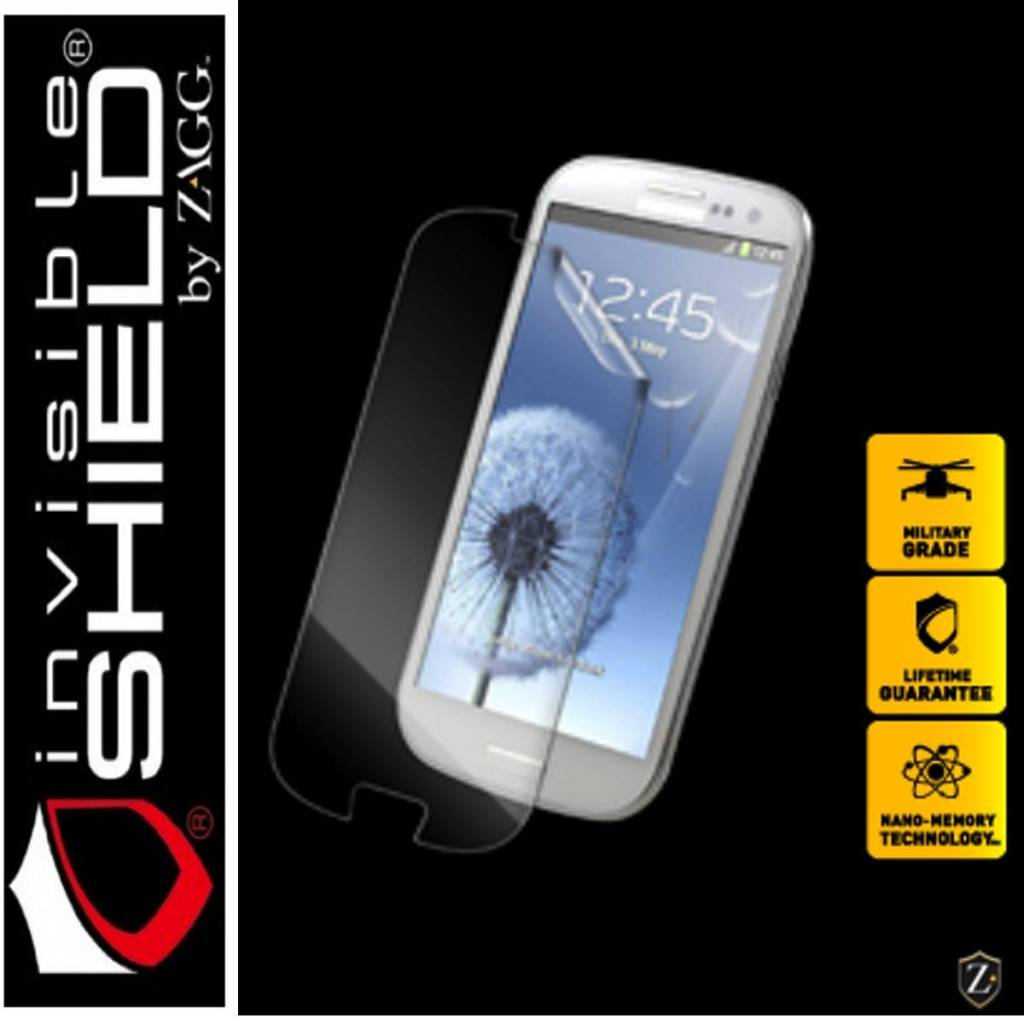 ZAGG® Protector de pantalla invisibleSHIELD™ para Samsung Galaxy™ S III Mini