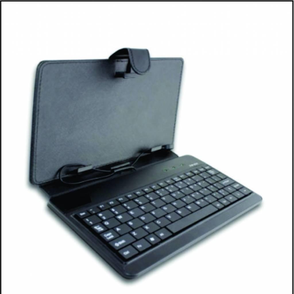 """Funda tablet 9"""" con teclado X-POINT negro"""