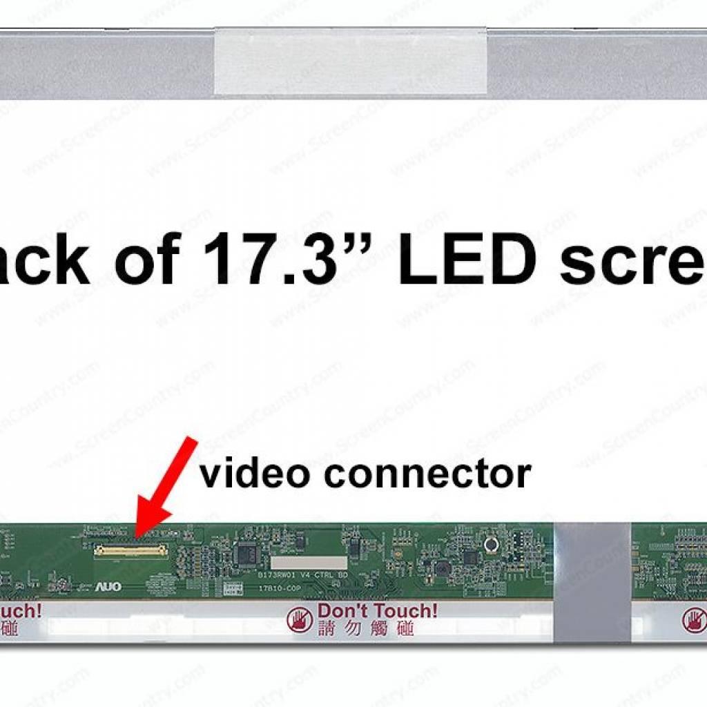 "PANTALLA NBK 17.3"" LED B173RW01 V.5"