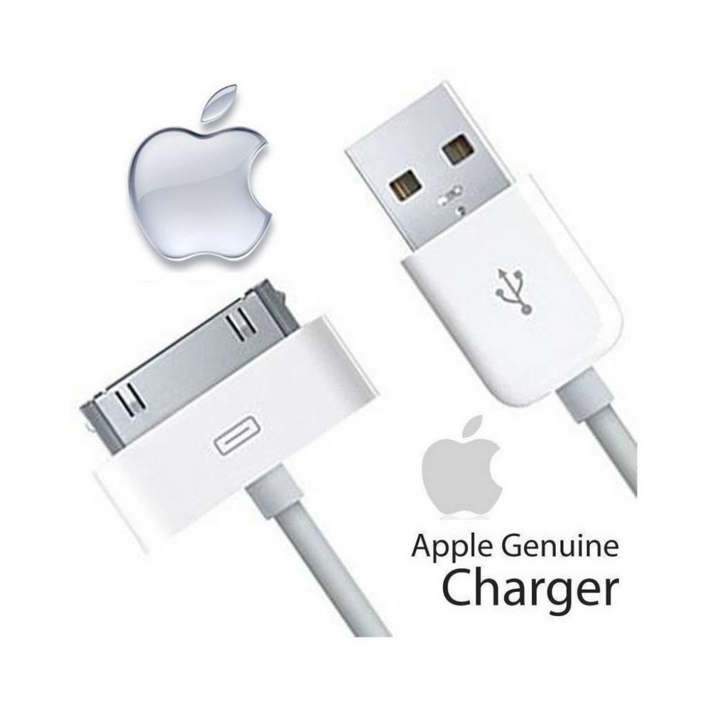 CABLE APPLE IPHONE  30 PIN A USB ORIGINAL - Bulk