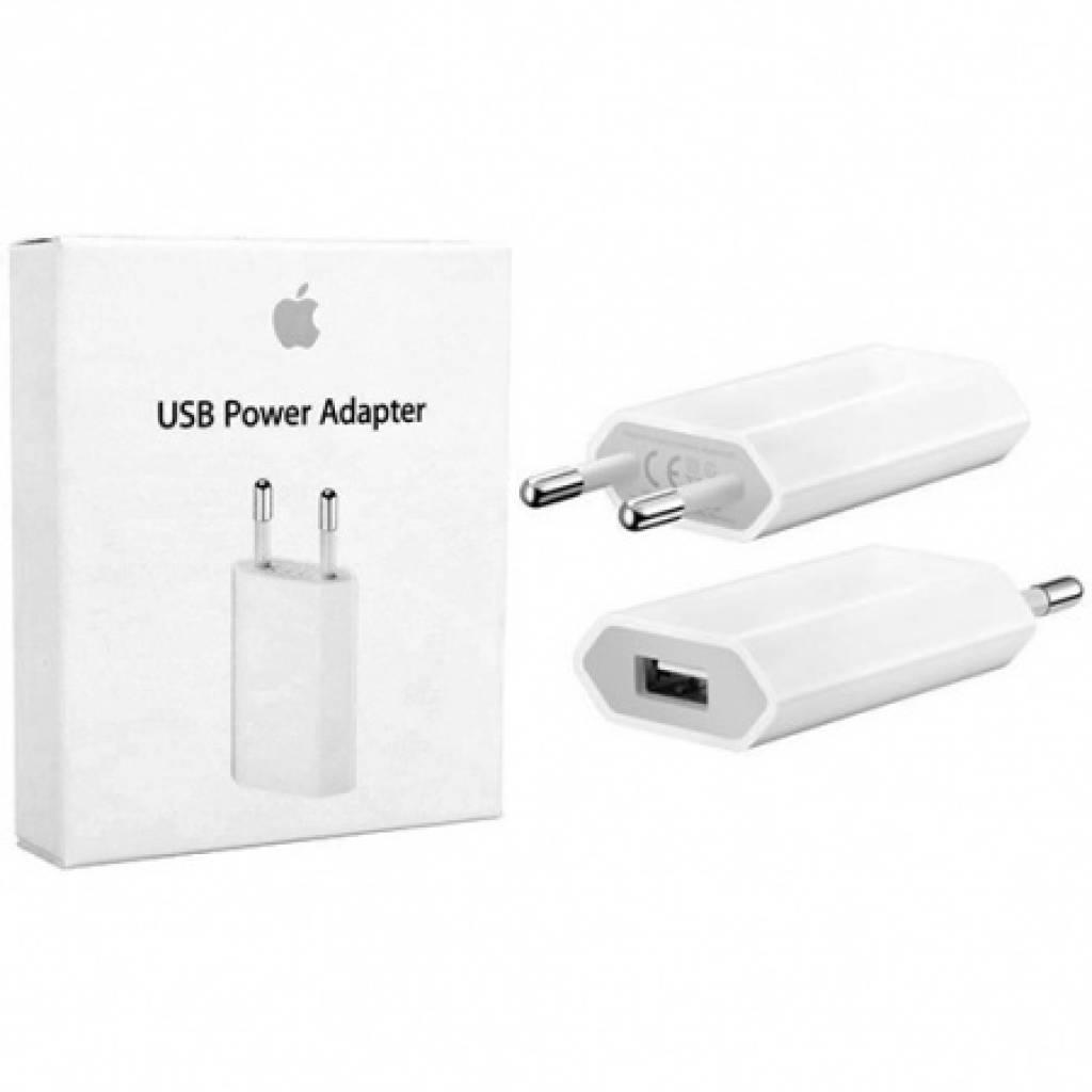 Cargador APPLE ORIGINAL 5w USB (Retail)