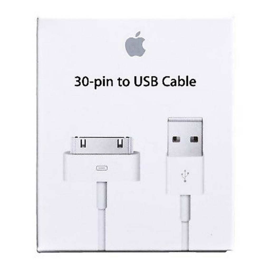 CABLE APPLE ORIGINAL 30 PIN A USB (Retail)