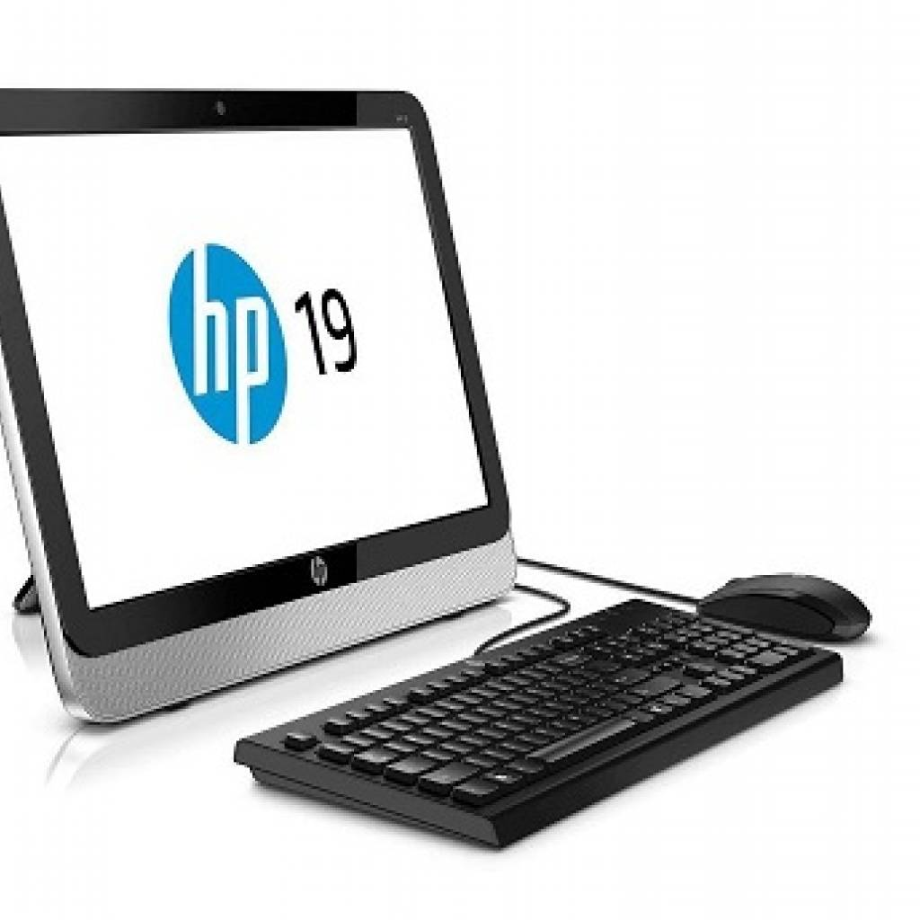 """PC ALL IN ONE HP 19-2113w J1800 19.5"""""""
