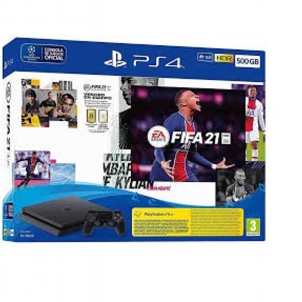 Playstation 4 Slim 1 TB + FIFA 21