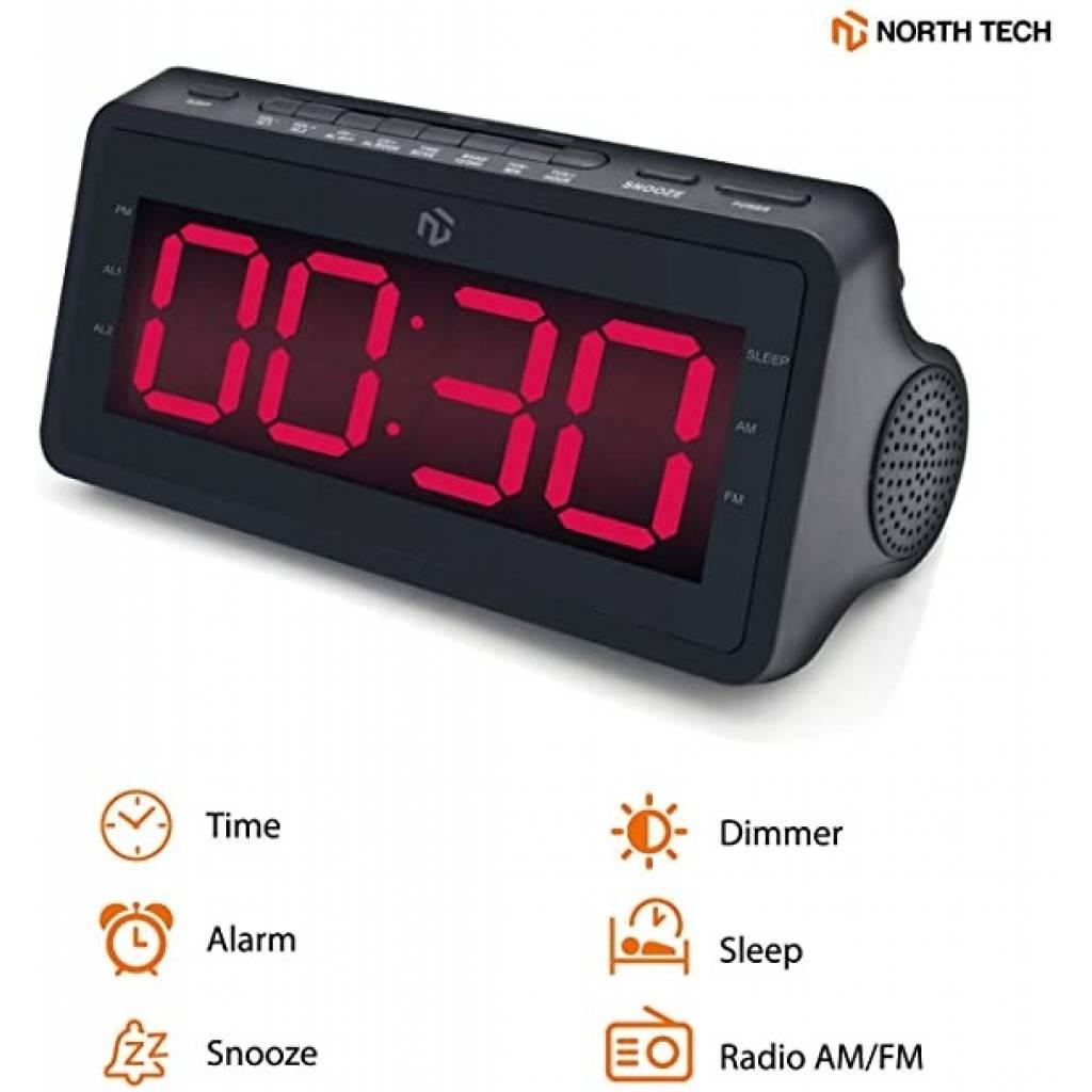 Radio Reloj  North Tech  NT-RCL25